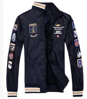 air worsted - Brand aeronautica militare men jacket Men s Sport Trench Outerwear Coat Air Force winter military army Jackets jaquetas
