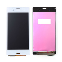 Wholesale For Sony Z3 LCD Compact D5833 Display With Touch Screen Digitizer assembly white Color