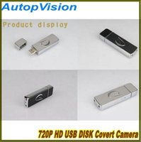 Wholesale HD P Infrared Night Vision mini USB Disk Camera T2 Spy U Disk hidden camera video recorder USB Flash Drive mini DVR