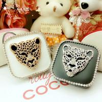 Wholesale ST15034 Contact Lens Box Case Holder Container Case For Lenses Eye Color Box Carton leopard