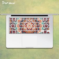 Wholesale Images Laptop Skin Decals Keyboard Skin Cover Decal Sticker Protector for Macbook retina air13