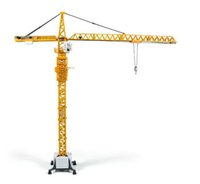 Wholesale tower crane engineering truck car model alloy die cast metal cars toys boys gift