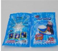 Wholesale Christmas Decoration Instant Snow Magic Prop DIY Instant Artificial Snow Powder Simulation Fake Snow Night Party magic snow