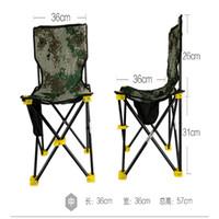 Wholesale Taiwan fishing chair portable folding stool fishing gear fishing supplies outdoor folding chairs