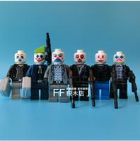 Wholesale 2016 New Arrival Suicide Squad The Dark Knight Joker bandit gang Compatible Legoeid Building Minifigures Blocks Toys