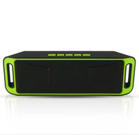 audio sub woofer - Wireless Stereo Bluetooth Speaker with FM TF slot Super Bass sub woofer for all phones SC With Colors