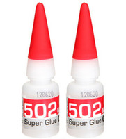 Wholesale 2pcs Super Glue Instant Quick drying Cyanoacrylate Adhesive Strong Bond Fast Leather Rubber Metal g