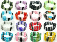 Wholesale 10pcs Beautiful mixed Woman Fashion Magnetic Genuine Hematite beads Strands for Bracelet Necklace Ankles Gift