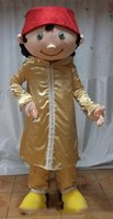 arab men wear - Custom made an Arab man mascot costume with a gold suit for adult to wear
