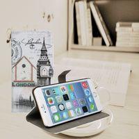 ben wallet - lphone6 plus Big Ben fashion cellphone cases plain wallet style apple plus inches phone cases