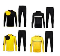 Wholesale 2016 Borussia Dortmund tracksuit survetement calidad Tailandesa camiseta de futbol Training suit S__XL
