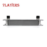 Wholesale Applicable to all car modification row silver AN10 oil cooler kit accessories oil radiator