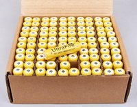 Wholesale 50pcs battery V mAh rechargeable lithium battery for Led flashlight batery litio battery cell