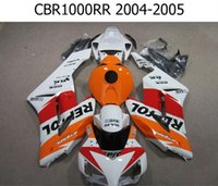 Wholesale 4 Free Gifts Cowl Tank New ABS Motorcycle Fairing Kit Fit For HONDA CBR1000RR CBR1000 CBR RR orange white red black
