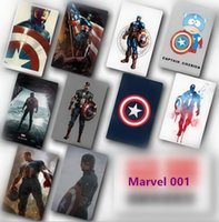 Wholesale Marvel s Superhero Caption Amercian The Avengers stickers for decoration Movie Poster Picture Souvenir Card Sticker DIY Scrapbooking