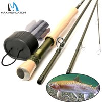 Wholesale Maximumcatch Fly Fishing Rod FT wt Fast Action Superfine Carbon Fiber Fly Rod