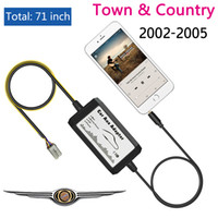adapter country - APPS2CAR Car audio ipod iphone mm Aux in Adapter MP3 Player Radio Interface for Chrysler Town Country