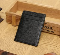 banks small business - 2016 Hot JINBAOLAI ultra thin Leather Bank Card Credit Card Sets Of Small Card Sets Of Work Permits