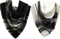Wholesale 2017 Fashion New arrival luxury high quality square shoulder tassel pashmina shawl lady jacquard cashmere acrylic checked plaid scarf shawl