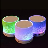 Wholesale XINSAST wireless Bluetooth speaker portable mini subwoofer LED lights TF card Bluetooth speaker for Phone Computer mm Mic