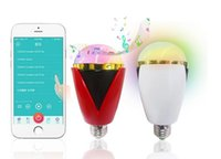 Wholesale Hot and high quality Intelligent fashion creative and Nanli bluss and mood brightness system bluetooth speakers polychromatic light bulbs