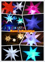 Wholesale led inflatable star decoration inflatable star