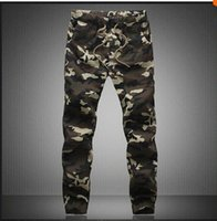 Wholesale IMC M XL Mens Jogger Autumn Pencil Harem Pants Men Camouflage Military Pants Loose Comfortable Cargo Trousers Camo Joggers