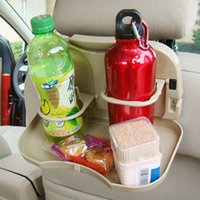 Wholesale Car Seat Tray mount Food table meal Desk Stand Drink Cup Holder multifunctional dining table for automobile