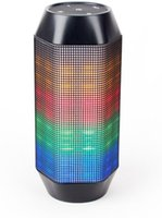 beautiful center - AVWOO Promotion Popular Portable Bluetooth Speaker with LED Color Changing Lights looks like beautiful Ranbow with discount price