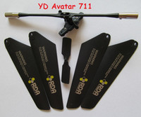 avatar bar - Old Version Attop Toys YD711 Avatar YD YD Main Blades Tail Blade Balance Bar Rc Spare Parts Accessories Rc Helicopter
