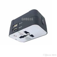 Wholesale Charger Adapter Plug All in one Travel AC Power Adapter Converter to US UK AU EU Plug Socket Free Electrical