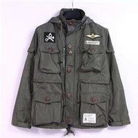 ak jacket - Mens Clothing AK CLUB Brand Men s Jacket Air Force M65 Flight Jacket Waterproof Twill Cotton Bomber Jacket Men jackets windbreaker