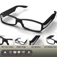Wholesale Fashion Megapixel HD x1080P Resolution Eyeware Glasses DVR Camera Covert Video Recorder Mini DV Protable Security Camcorders