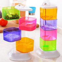 beautiful canisters - Fashion Seasoning Box Beautiful Contracted Transparent Canister