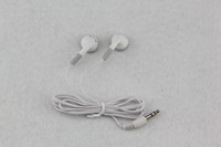 apple buses - white Cheapest disposable earphones headphone headset for bus or train or plane one time use