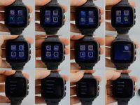 Android 3G montre Smart Watch Phone Bluetooth Smartwatch 4G 512MB Carte SIM GSM W08 Sport Montres avec 5.0MP caméra Wifi GPS CSAJ pour iOS DHL