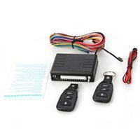 Wholesale 12V Universal Car Remote Control Central Black Door Lock Locking Keyless Entry System Kit