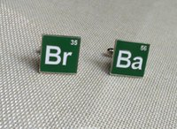 ba green - freemasonry masonic green enamel cuff link Ba Br classic square cufflinks free masons sleeve buttons fashion metal craft gifts