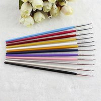 Wholesale Popular Nail Art Designer Pen Pencil Brush Painting Dotting Acrylic Tool