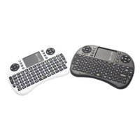 Wholesale Rii Mini i8 G Wireless Keyboard and Mouse with Touchpad for PC Pad Google Android TV Box USB White