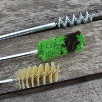 aluminum cleaning - 12GA Universal ShotGun Cleaning Kit brush ShotGun Aluminum Rod cleaning brush kits