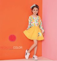 Wholesale 2016 Dress Baby Girl Suspender Skirt Antumn Cotton Sanding Pleated Braces Short Skirt Dresses Solid Color Baby Kids Clothing XY016