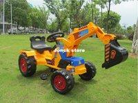 Wholesale Children s toys construction vehicles large foot construction vehicles excavators excavators pedal karts mixed batch