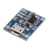 Wholesale 1pc V Mini MICRO USB A TP4056 Lithium Battery Module Li ion Batteries Charging Charger Board Module