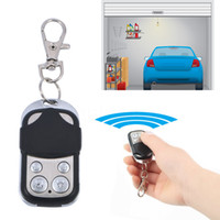 Wholesale Electric Wireless Auto Remote Control Cloning Universal Gate Garage Door Control Fob mhz Key Keychain Remote Control