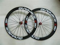 Wholesale 23mm width Dura ace c50 Road Bike Carbon Wheels mm Clincher Carbon Wheelset C Chiese ruedas carbono with