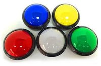 amusement video game - Convex mm Buttons Large illuminated Keys Amusement parts video game accessories Button Switches With Microswitch LED Lights