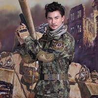 Wholesale Good quality Tactical Camouflage Uniform Clothes Suit Men Army Multicam Hunting Combat Jacket set Hunting Uniform