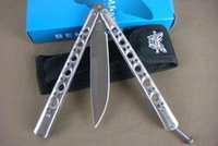 buck knives - benchmade balisong BM42 BM43 BM47 BM49 simple version jilt Free swinging SPRING LATCH folding microtech karambit buck knives knife