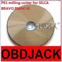 bianchi steel - Original Raise High speed steel double angle cutter P01 milling cutter for SILCA key cutting machine BRAVO BIANCHI locksmith